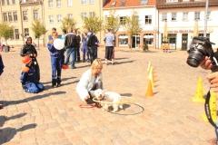 Auftritt in Altentreptow - Marktplatz (05.05.2011)