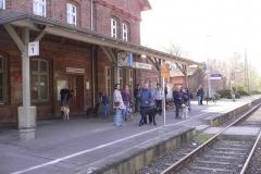 Zugfahrt und Stadttraining Neubrandenburg (13.04.2014)
